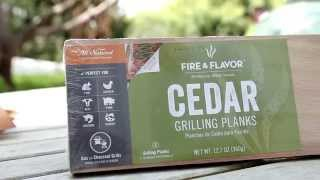 Grilling With A Cedar Plank