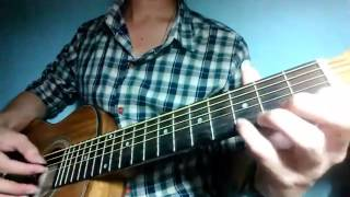 Anh mơ (Anh Khang) - FingerStyle (Open C tuning)