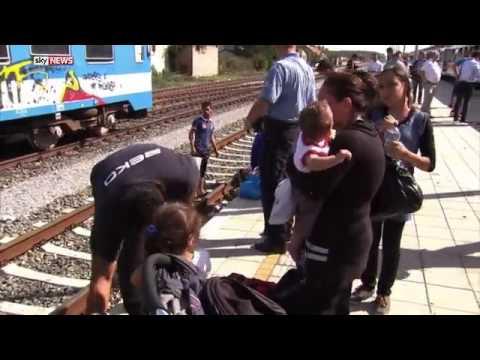 Military Move In To Man Croatia Hungary Border