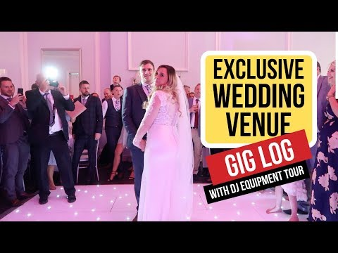 DJ Gig Log: Exclusive Country House Wedding with Mobile DJ Equipment Tour and Wedding DJ Setup