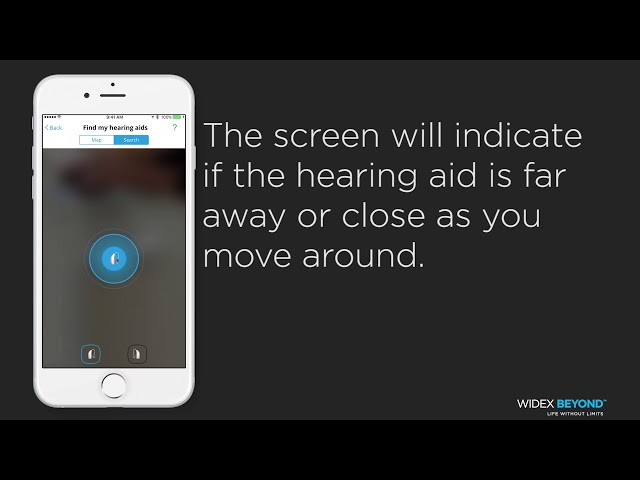 BEYOND App Tutorial: Find my Hearing Aids