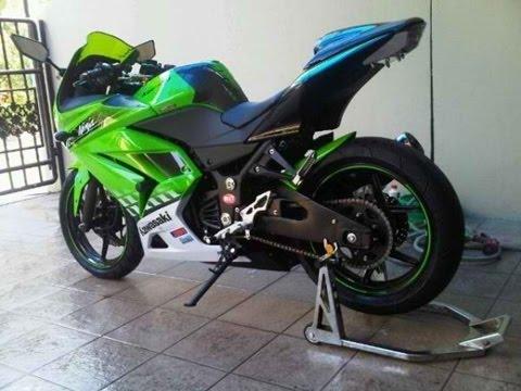 Video Contoh Modif Motor Kawasaki Ninja Terbaru Modifikasi Motor