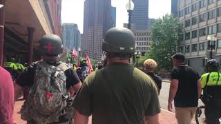 'Blue Lives Matter;'Boston Free Speech rally