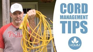 3 Cord Management Tips - NO MORE TANGLING!