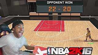 NBA 2K16| TRASH TALKER EXPOSES PRETTYBOYFREDO!! 1v1 MYCOURT!! 2K CHEESE RAGE QUIT!!! - PT 3