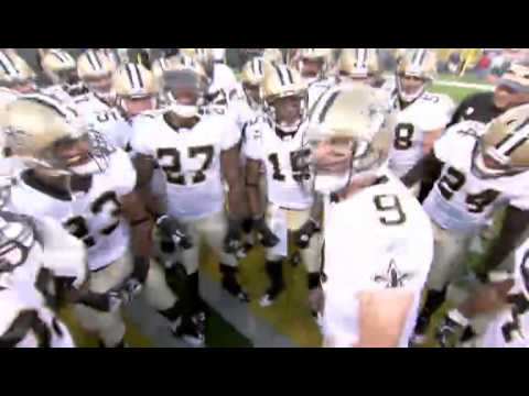 Saints And Brees New Huddle Chant