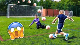 how to beat a goalkeeper 😱