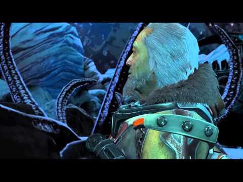 Lost Planet 3 -Mission 8 GoreVorgg & Nushi: Jim Discovers Nushi & Souichi Planet Chat Cutscene
