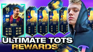 TOTS MESSI! THESE ULTIMATE TOTS 11 PLAYER PACKS ARE CRAZY! #FIFA21 ULTIMATE TEAM