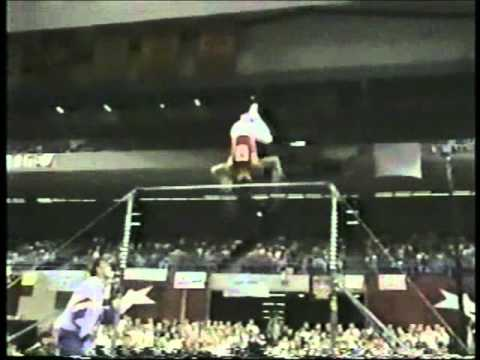 Kurt Thomas - 1992 US Olympic Trials High Bar