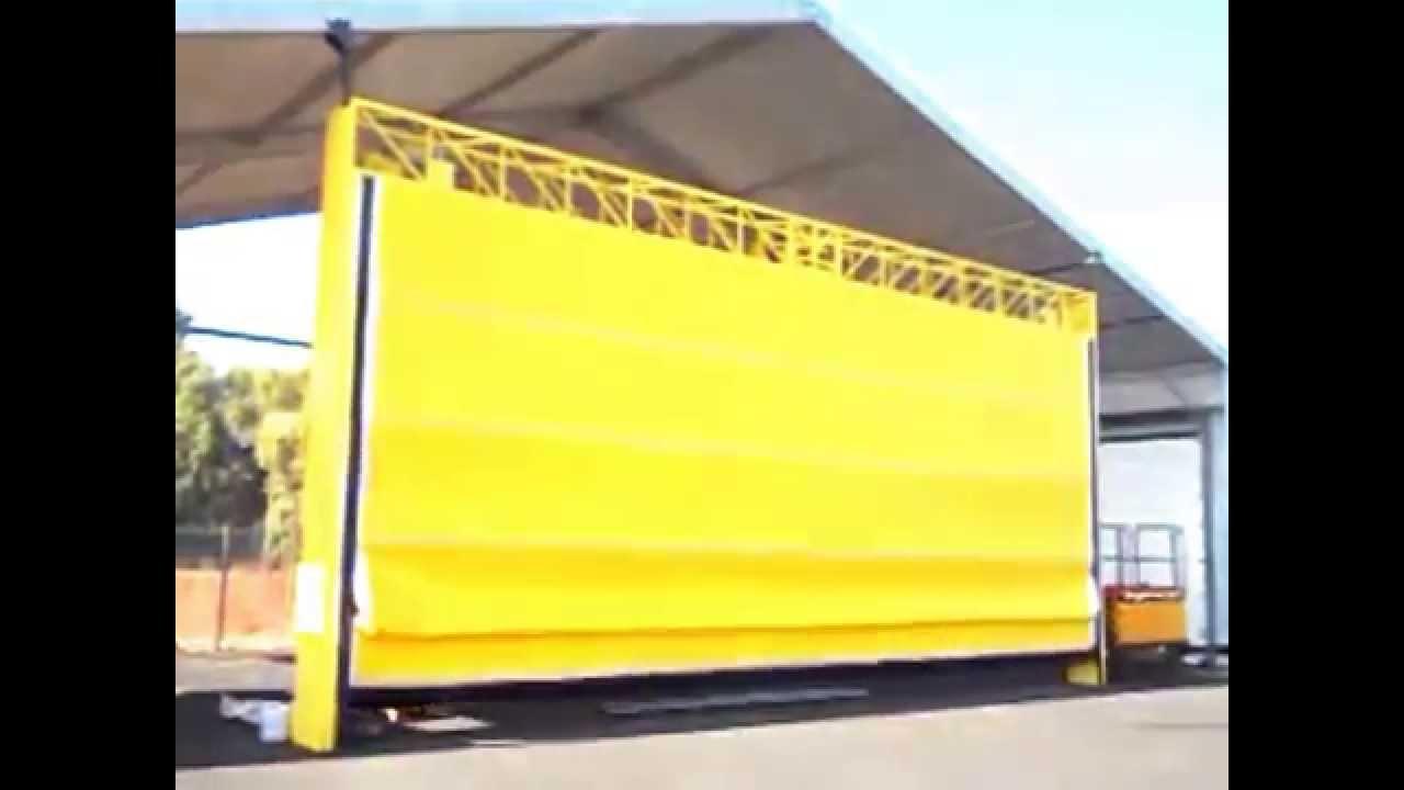 Puertas plegadizas para naves industriales youtube - Puertas para naves industriales ...