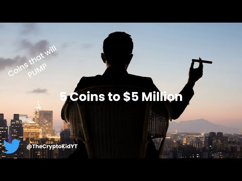 5 Coins to $5 Million Dollars! Best Cryptocurrency Portfolio February 2021!