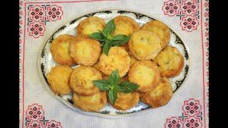 Ленивые мини-беляши/ Беляши без теста / Быстрая выпечка/ Фаршированные сушки жареные на сковороде .
