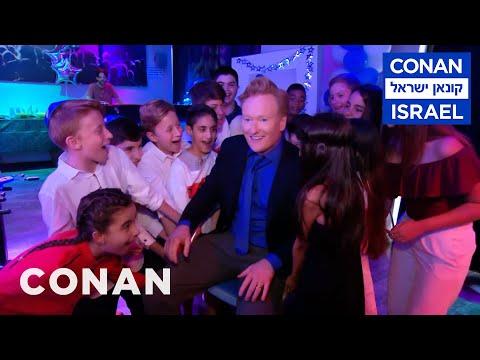 Conan Throws Himself A Bar Mitzvah  - CONAN on TBS