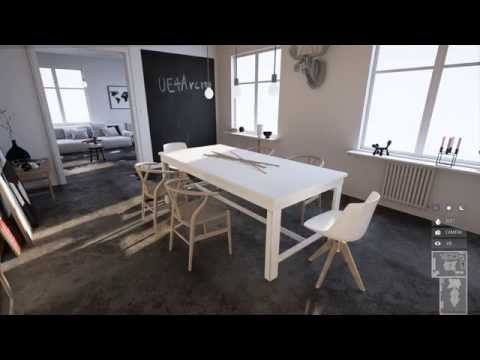 UE4Arch - Interactive House
