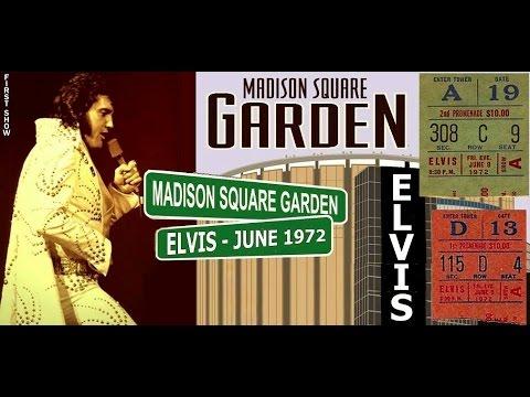 ELVIS - Live @ Madison Square Garden 1972 (Rare Footage) TSOE 2016 ...