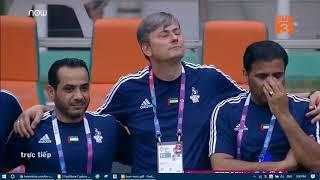 Loạt đá penalty giữa U23 Vietnam vs UAE  . Trận Chung kết  tranh HCĐ asiad Châu á năm 2018