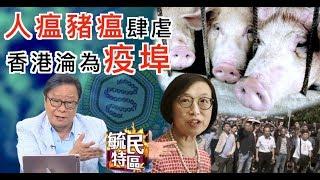 毓民特區:非洲豬瘟襲港 人瘟肆虐更嚴重