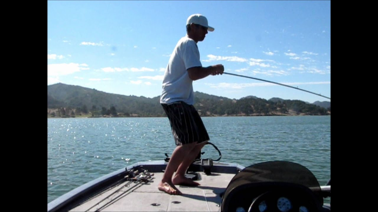 Hookedup bass fishing lopez lake 20lbs11oz 5 for Lopez lake fishing report