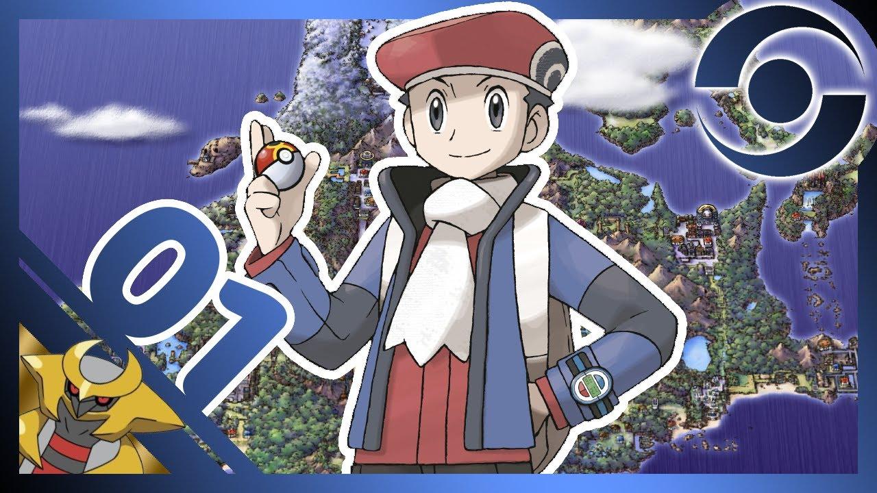 Pok mon version platine 01 un d but glacial pokemon - Pokemon legendaire platine ...
