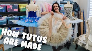 How Ballet Tutus Are Made | @MissAuti