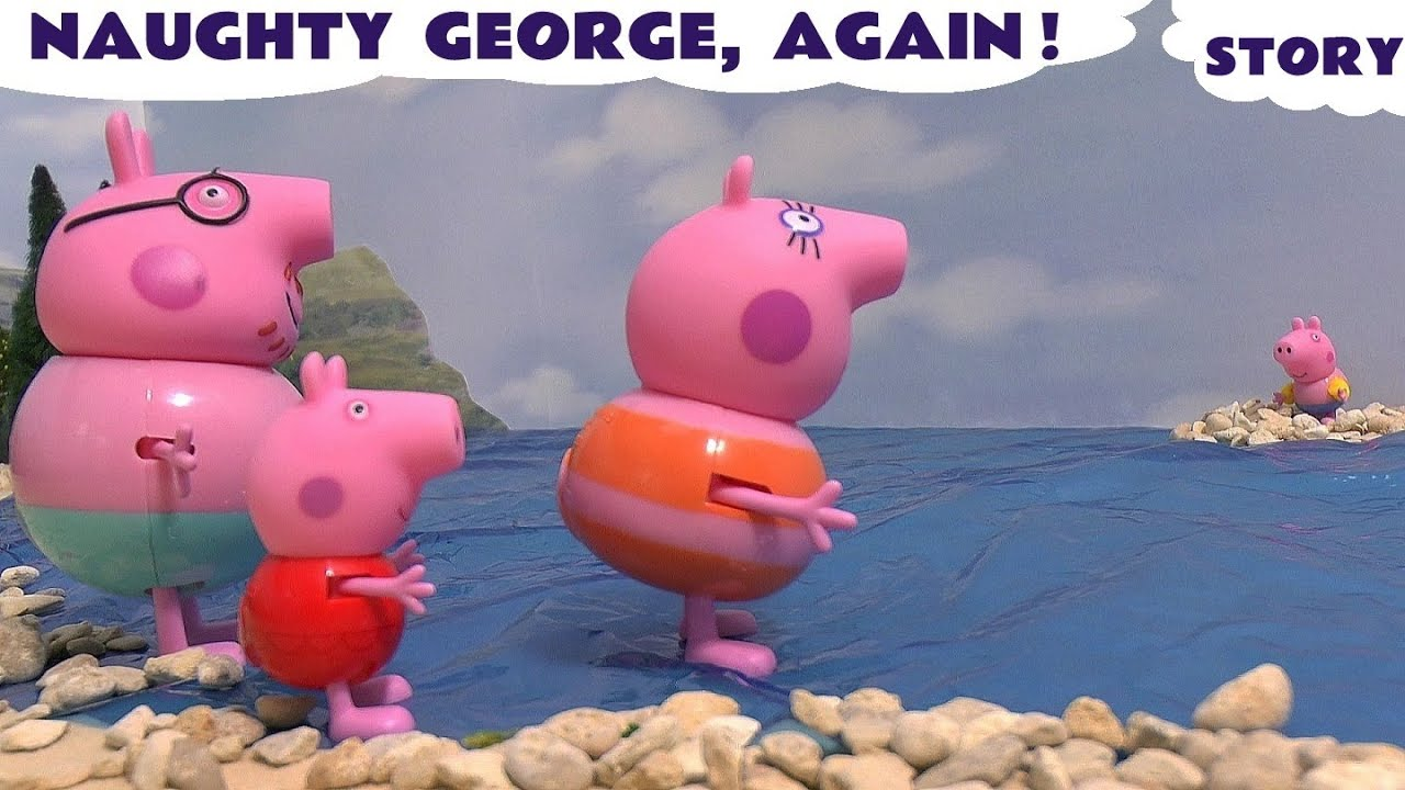 Inspirational Peppa Pig naughty George toy story for kids and children with Dora and Thomas u Friends Pepa TTU YouTube