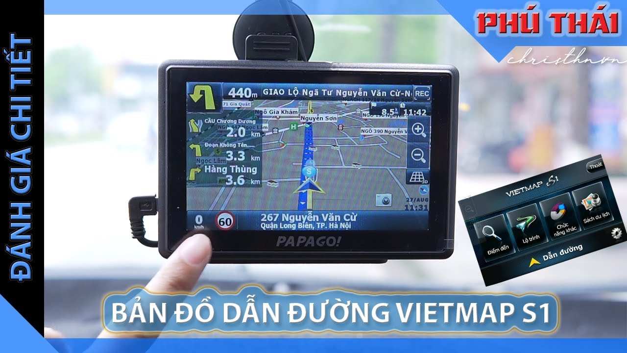 Bản đồ dẫn đường Vietmap S1 cho Camera hành trình