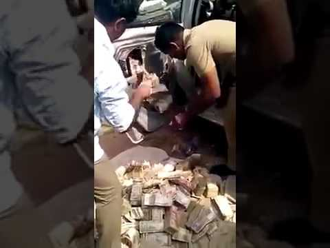 Black money found in Ghaziabad (up) from Bjp leader