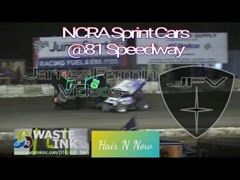NCRA Sprint Cars #23, Feature, 81 Speedway, 05/26/18