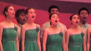 Muntinlupa Science High School Chorale performs in Korus Klef 2011
