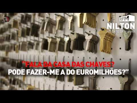 Nilton Liga Para Casa Onde Se Fazem Todo O Tipo De Chaves E Pede Para Lhe Fazerem A Chave Do Euromilhões!!!