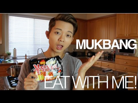 Mukbang: EAT WITH ME! (먹방) - Outfit of the Day & The Kardashians