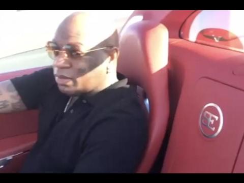"Birdman ""Riding Around In Bugatti After NBA All Star Game New Orleans"""
