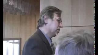 ответная речь преподавателям на встрече выпускников по поводу 30 летия окончания МВТУ 16 марта 2007