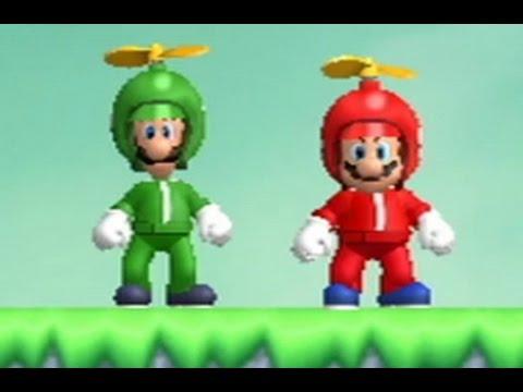 New Super Mario Bros. Wii Co-op Walkthrough - World 7 (All Star Coins)