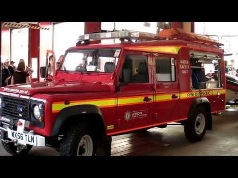 Avon fire & rescue - open day