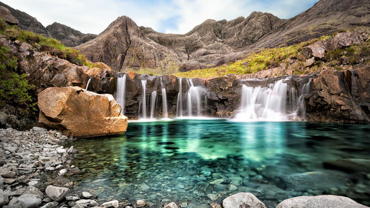 Image result for Fairy pools of the Isle of Skye, Scotland