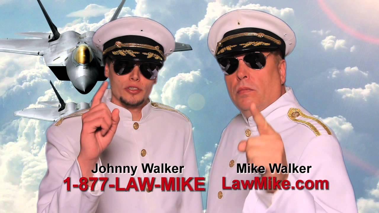 Mike Walker Nashville Attorney Top Gun Commercial Youtube