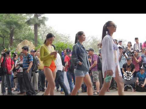 The most beautiful Taiwan girls: On the street