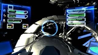Mysterious space. 3D Game. Unity 3d