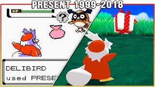 Evolution of Present - Pokémon Moves (1999-2018)