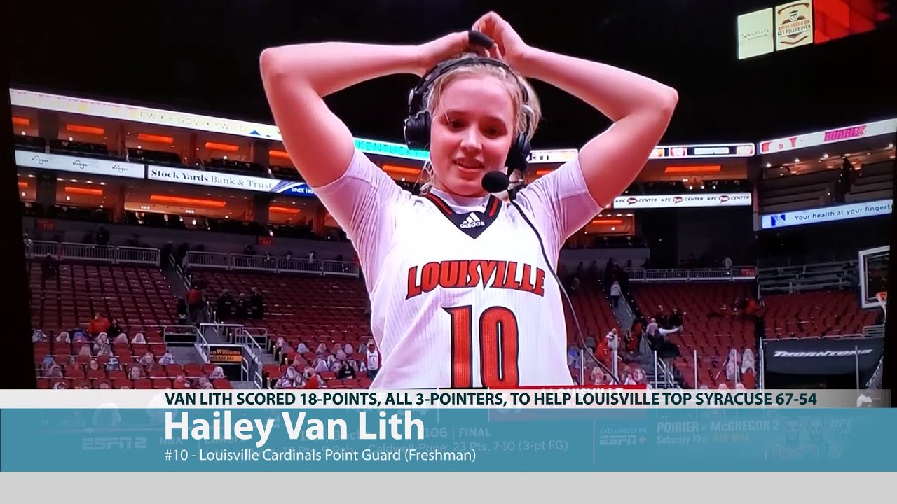 Hailey Van Lith Post Game Interview 2021-01-22