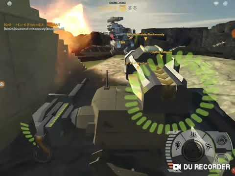 Mech Battle - NEW MAP!!🗺⛰   FFA   Lvl. 2 bots & weapons   Custom Match   Could the AI Win?🤖⚔  