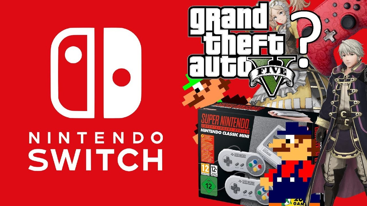 Nintendo Switch Super Mario Odyssey Accessories Snes Classic And Switchsuper Gta V Rumors