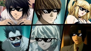 TOP 5 MELHORES TURN DOWN FOR WHAT DEATH NOTE