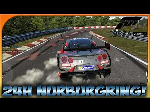 NISSAN GTR EN NURBURGRING! | FORZA MOTORSPORT 6 APEX #13 | DEWRON