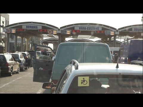 Crossing Ukraine, Moldova, Romania Border by Car