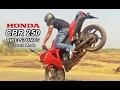 Amazing Honda CBR 250 Stunts of 2017 - Wheelies _ Driffting - Stoppie - Burnout