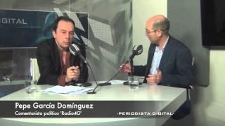 Gambar cover Pepe García Domínguez, comentarista político en Radio4G. 13-6-2014