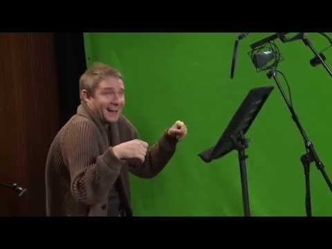 Martin Freeman Being Adorable Behind the s Pirates band of misfits